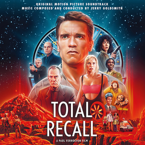 Total Recall (25th Anniversary Original Motion Picture Soundtrack) by Jerry Goldsmith