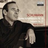 Schumann: Études Symphoniques, Op. 13, Fantasy, Op. 17 by Naum Grubert
