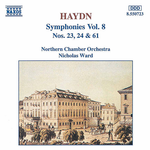 Symphonies Nos. 23, 24 & 61 by Franz Joseph Haydn