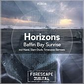 Baffin Bay Sunrise by Horizons
