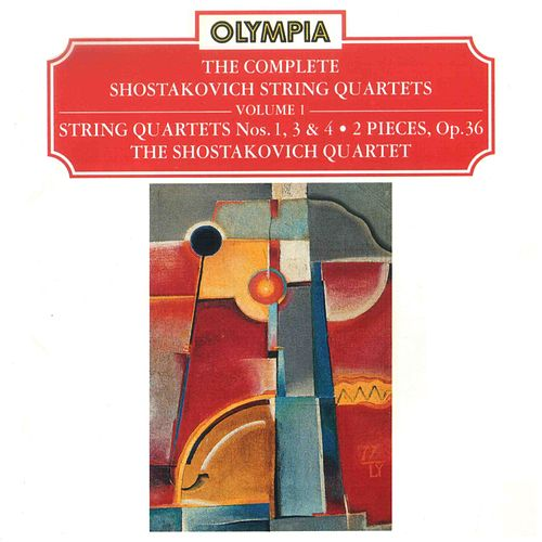 Shostakovich: Complete String Quartets, Vol. 1 by Shostakovich Quartet