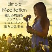 Simple Meditation - 癒しの周波数 リラクゼーション ピアノ 眠りの歌 器楽 by Various Artists
