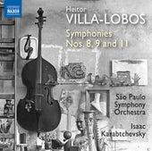 Villa-Lobos: Symphonies Nos. 8, 9 & 11 by Orquestra Sinfônica Do Estado De São Paulo