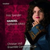 Handel: 9 German Arias by Various Artists