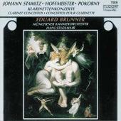 Stamitz, Hoffmeister, Pokorný: Klarinettenkonzerte by Various Artists