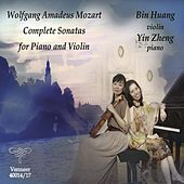Mozart: Complete Sonatas for Piano & Violin by Bin Huang