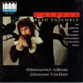 Shostakovich, Brumel, et al. by Calefax Reed Ensemble