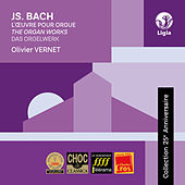 Bach: Das Orgelwerk (Collection 25e anniversaire) by Olivier Vernet