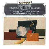 Shostakovich: Complete String Quartets, Vol. 4 by Shostakovich Quartet