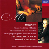 Mozart: Music for 4 Hands von George Malcolm
