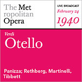 Play & Download Verdi: Otello (February 24, 1940) by Various Artists | Napster