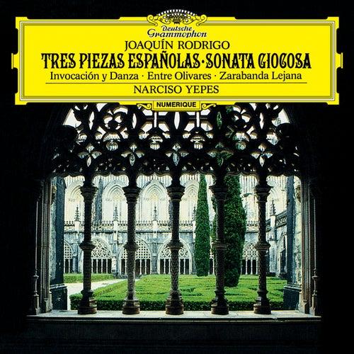 Rodrigo: Tres Piezas Españolas; Sonata Giocosa by Narciso Yepes