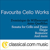Play & Download Claude Debussy, Cello Sonata In D Minor by Dominique de Williencourt Anne Queffélec | Napster