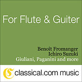 Ferdinando Carulli, Fantasy For Flute And Guitar, Op. 337 by Benoît Fromanger