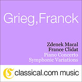 Edvard Grieg, Piano Concerto In A Minor, Op. 16 by France Clidat