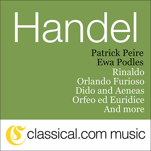 Play & Download George Frideric Handel, Rinaldo, Hwv 7 by Ewa Podles | Napster
