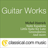Little Suite For Lute by Michel Dintrich