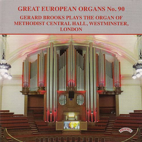 Great European Organs, Vol. 90 by Gerard Brooks
