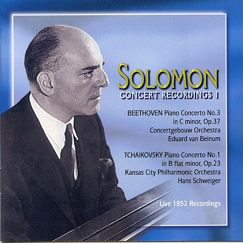 Solomon: Concert Recordings, Vol. 1 (1952) by Solomon