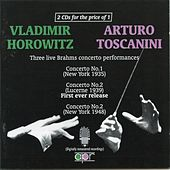 Three Live Brahms Concertos by Various Artists