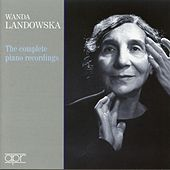 Landowska, Wanda: The complete commercial piano recordings (1937-1958) by Wanda Landowska
