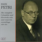 Petri: The complete Columbia & Electrola solo recordings by Egon Petri