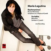 Rachmaninoff: 6 Moments Musicaux, Op. 16 - Scriabin: 9 Mazurkas, Op. 25 - Piano Sonata No. 5, Op. 53 - Piano Sonata No. 9, Op. 68