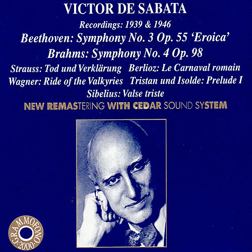 Play & Download VICTOR DE SABATA Recordings From 1939 to 1946 by Various Artists | Napster