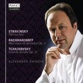 Stravinsky, Rachmaninoff, Tchaikovsky by Alexander Ghindin