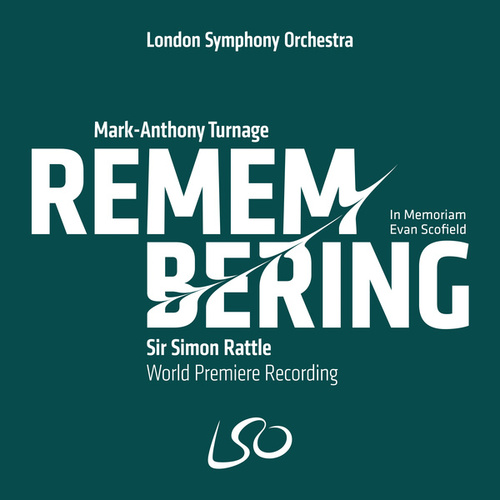 Turnage: Remembering by London Symphony Orchestra