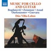 Bogdanović, Zenamon, Assad, Ourkouzonov & Guevara: Music for Cello & Guitar by Dúo Villa-Lobos
