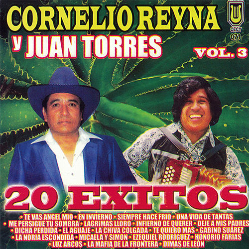 20 Exitos, vol. 3 by Cornelio Reyna