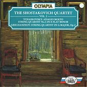 Tchaikovsky: String Quartet No. 3 - Grechaninov: String Quartet, Op. 2 by Shostakovich Quartet
