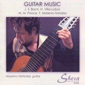 Bach, Villa-Lobos, Ponce & Moreno-Torroba: Guitar Music by Massimo Stefanizzi
