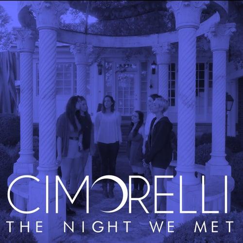 The Night We Met de Cimorelli