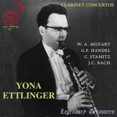 Yona Ettlinger Vol. 1: Clarinet Concertos by Yona Ettlinger