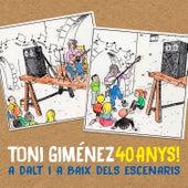 40 Anys!: A Dalt I a Baix dels Escenaris by Toni Giménez