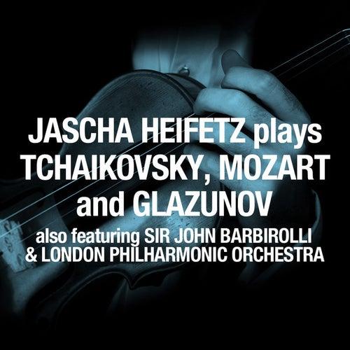 Play & Download Jascha Heifetz plays Tchaikovsky, Mozart and Glazunov by London Philharmonic Orchestra | Napster