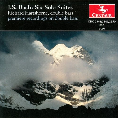 J.S Bach: The Six Solo Cello Suites (Arranged For Doublebass) by Johann Sebastian Bach