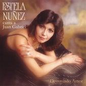 Demasiado Amor Canta a Juan Gabriel by Estela Núñez