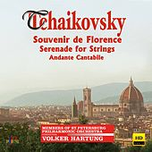 Tchaikovsky: Souvenir de Florence, Serenade for Strings & Andante cantabile by Various Artists
