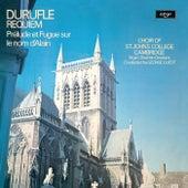 Duruflé: Requiem; Prelude et Fugue sur le nom d'Alain by Various Artists
