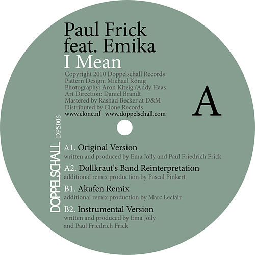 I Mean EP by Paul Frick
