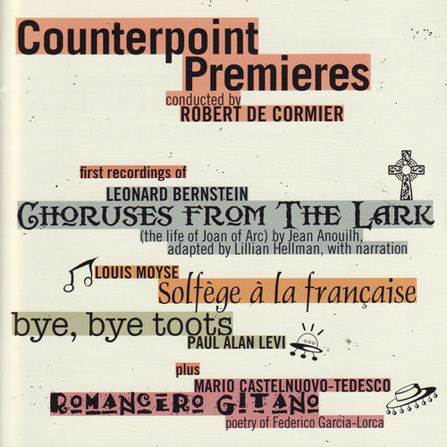 Play & Download Counterpoint Premieres by Counterpoint | Napster