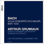 Arthur Grumiaux - Bach Concerto in E Major by Arthur Grumiaux