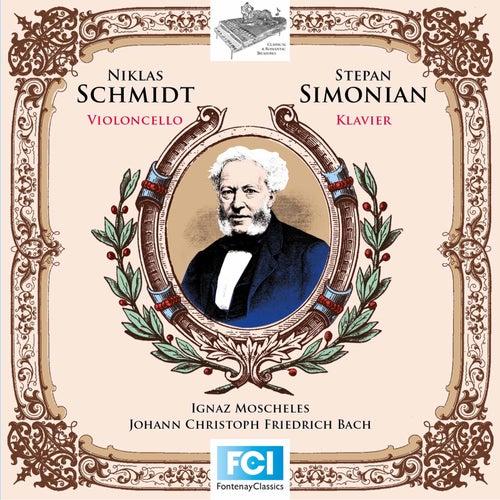 Moscheles & Bach: Cello Works de Niklas Schmidt