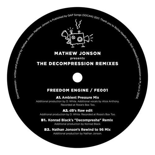 Mathew Jonson Presents The Decompression Remixes by Mathew Jonson