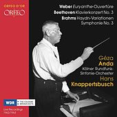 Weber, Beethoven & Brahms: Orchestral Works (Live) by Various Artists