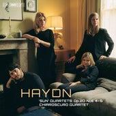 Haydn: String Quartets, Op. 20 Nos. 4-6 by Chiaroscuro Quartet