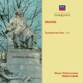 Brahms: Symphonies Nos. 1–4 by Rafael Kubelik